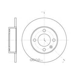 Тормозной диск (Remsa) 661600