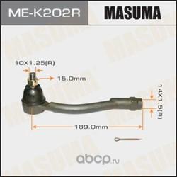 Наконечник рулевой (Masuma) MEK202R