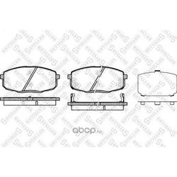 Комплект тормозных колодок (Stellox) 001083BSX