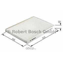 Фильтр, воздух во внутреннем пространстве (Bosch) 1987432412
