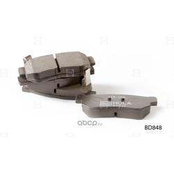 Колодки дисковые (HOLA) BD848
