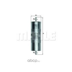 Топливный фильтр (Mahle/Knecht) KL35