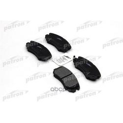 Колодки тормозные дисковые передн HYUNDAI: SONATA 2.0I/2.7/COUPE GK ALL 01> (PATRON) PBP1733