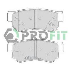 Комплект тормозных колодок (PROFIT) 50001606