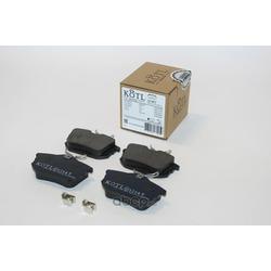 Колодки тормозные, комплект, задние (KOTL) 1314KT