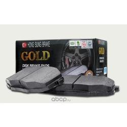 Колодки тормозные дисковые задние к-т (HSB) HP1035