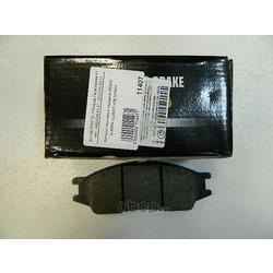Колодки тормозные дисковые передние к-т (HSB) HP3004