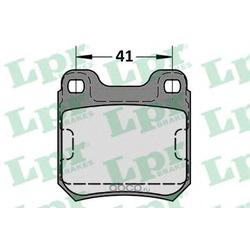 Комплект тормозных колодок, дисковый тормоз (Lpr) 05P584