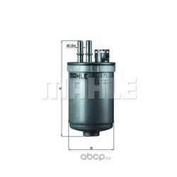 Топливный фильтр (Mahle/Knecht) KL173