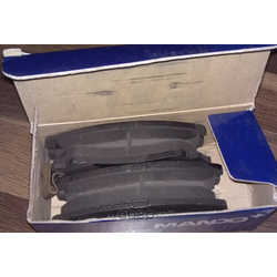 Комплект тормозных колодок, дисковый тормоз (Mando) MPH23