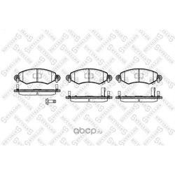 Комплект тормозных колодок (Stellox) 713012SX