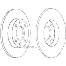 Тормозной диск (WAGNER) WGR11781