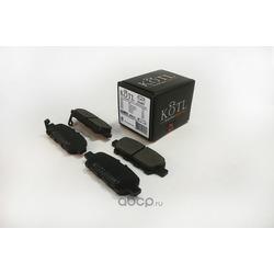 Колодки тормозные NISSAN X-TRAIL/QASHQAI/TIIDA/INFINITI FX/REN... (KOTL) 3508KT
