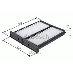 Фильтр, воздух во внутреннем пространстве (Bosch) 1987432086