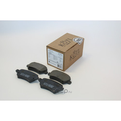 Колодки тормозные OPEL ASTRA G/H/ZAFIRA A задние (KOTL) 1515KT