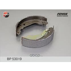 КОЛОДКИ ТОРМОЗНЫЕ БАРАБАННЫЕ FENOX (FENOX) BP53019