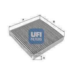 Фильтр, воздух во внутренном пространстве (UFI) 5411800