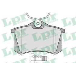 Комплект тормозных колодок, дисковый тормоз (Lpr) 05P634