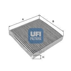 Фильтр, воздух во внутренном пространстве (UFI) 5410100