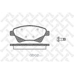 Комплект тормозных колодок (Stellox) 987020SX