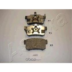 Комплект тормозных колодок, дисковый тормоз (Ashika) 5104445
