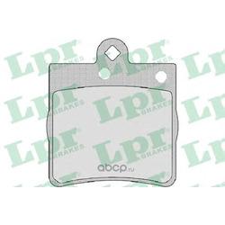 Комплект тормозных колодок, дисковый тормоз (Lpr) 05P726