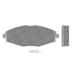 Колодки торм.FR (SCT) SP666