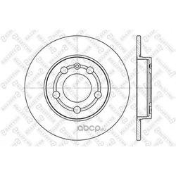 Тормозной диск (Stellox) 60204779SX