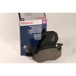 Комплект тормозных колодок, дисковый тормоз (Klaxcar) 24735Z