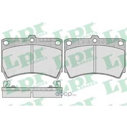 Комплект тормозных колодок, дисковый тормоз (Lpr) 05P366
