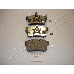 Комплект тормозных колодок, дисковый тормоз (Japanparts) PP445AF