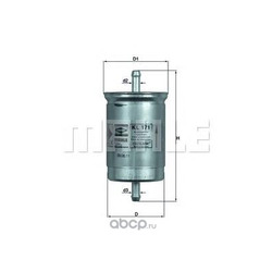 Топливный фильтр (Mahle/Knecht) KL171
