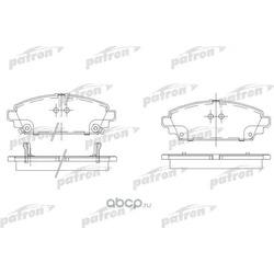 Колодки тормозные дисковые передн HONDA: ACCORD VII 98-02, ACCORD VII Aerodeck 98-02 (PATRON) PBP1601