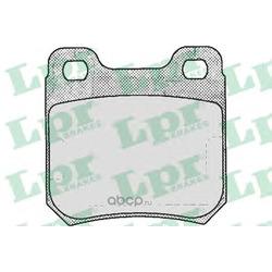 Комплект тормозных колодок, дисковый тормоз (Lpr) 05P206