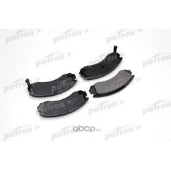 Колодки тормозные дисковые передние (PATRON) PBP765