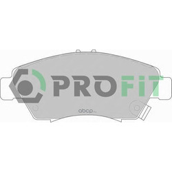 Комплект тормозных колодок (PROFIT) 50000776