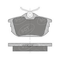 Колодки торм.RR (SCT) SP608