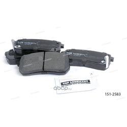 Тормозные колодки дисковые задние (Ween) 1512583