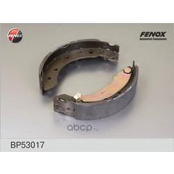 КОЛОДКИ ТОРМОЗНЫЕ БАРАБАННЫЕ FENOX (FENOX) BP53017