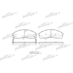 Колодки тормозные дисковые передн KIA: CARNIVAL 99-01, CARNIVAL II 01- (PATRON) PBP1595