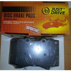 Колодки тормозные, передние D2177MH (Just Drive) JBP0043