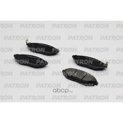 Колодки тормозные дисковые передн CHEVROLET: MATIZ 10- (произведено в Корее) (PATRON) PBP1444KOR
