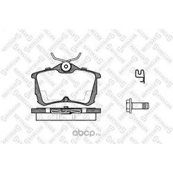 Комплект тормозных колодок (Stellox) 706002BSX