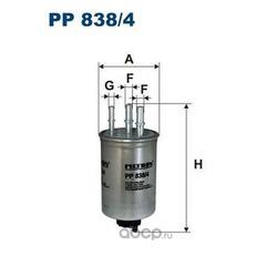 Фильтр топливный Filtron (Filtron) PP8384