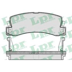 Комплект тормозных колодок, дисковый тормоз (Lpr) 05P514