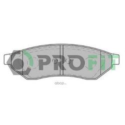 Комплект тормозных колодок (PROFIT) 50001986
