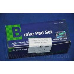 Комплект тормозных колодок (Parts-Mall) PKAE28