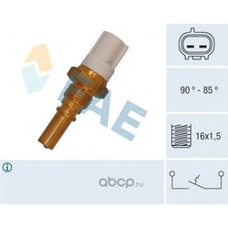 Термовыключатель, вентилятор радиатора (FAE) 36545