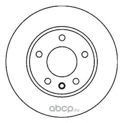 Тормозной диск (Jurid) 562053JC