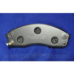Комплект тормозных колодок (Parts-Mall) PKB013